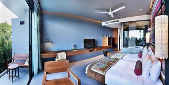 Nook Dee Boutique Resort By Andacura Deluxe Sea View Room