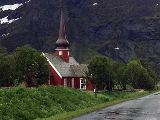Flakstad Municipality, Noruega: Flakstad Church