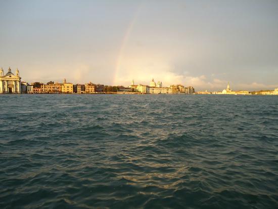 Residenza alle Zattere: uitzicht vanaf Giudecca