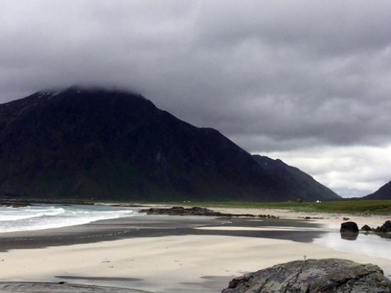 Flakstad Municipality, Noruega: Playa en Flakstad