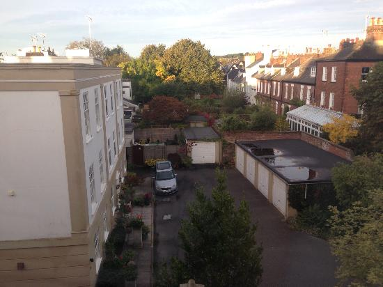Queens Court: View from the window