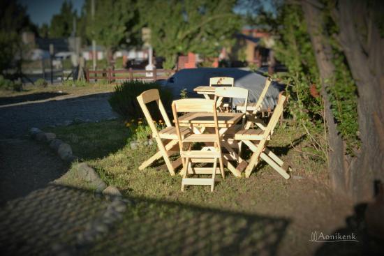Aonikenk Bed & Breakfast: Parque