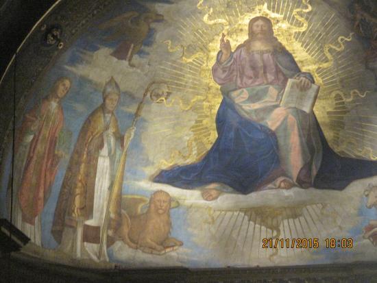 Affresco frontale della cupola foto di cattedrale di for Cose cremona