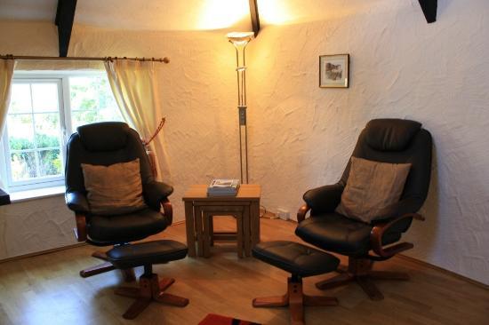 Cury, UK: Woodpecker lounge