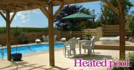 Nanplough Country House & Cottages: The pool area