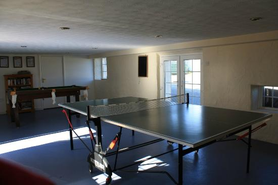 Nanplough Country House & Cottages: The games room