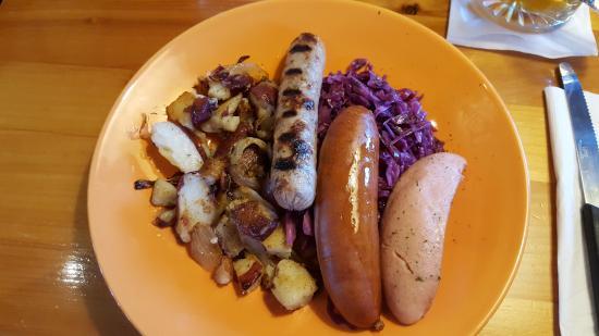 Siren, Ουισκόνσιν: German dish