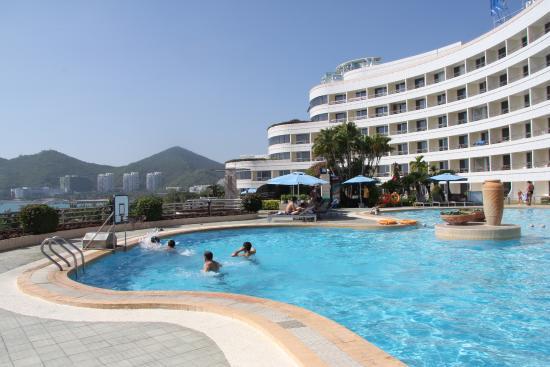 Sanya Pearl River Garden Hotel: наш отель