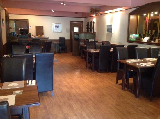 Coldingham, UK: Dinning room