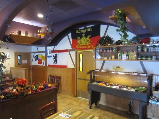 jaeger schnitzel with spaetzle and sauerkraut picture of. Black Bedroom Furniture Sets. Home Design Ideas