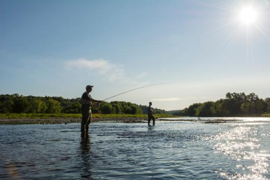New Brunswick, Canada: Salmon fishing, Miramichi River