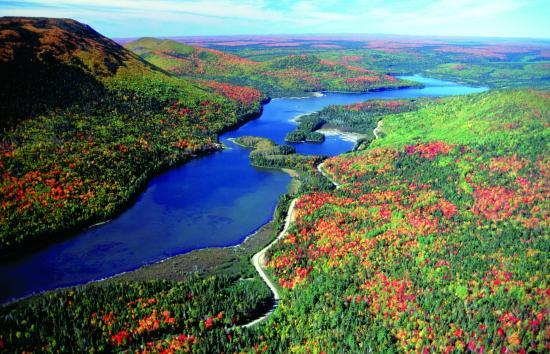 New Brunswick, Canada: Restigouche River in the fall