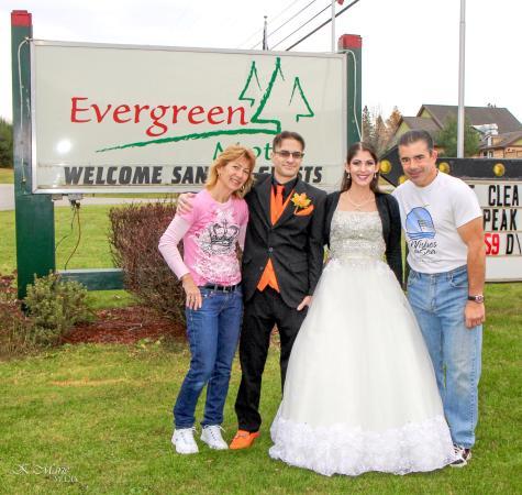 Honeymoon at the Evergreen motel