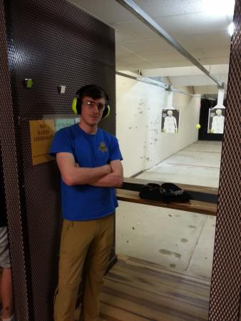 Montgomery, AL: Josh had used firearms before