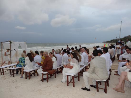 Akiin Beach Club Waiting For The Bride