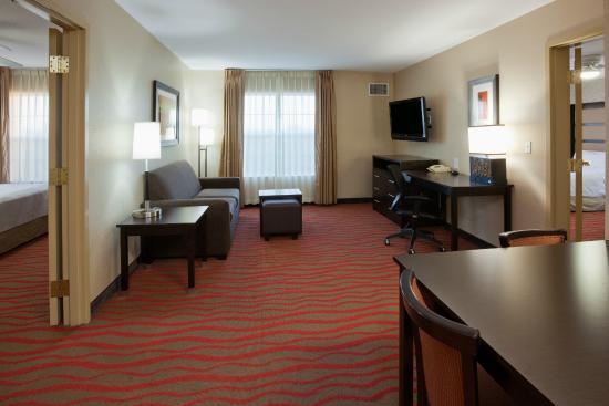 Homewood Suites by Hilton Sioux Falls: 2 Bedroom Suite