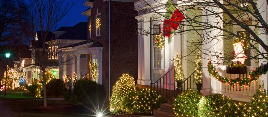 During the winter, North Carolina has an abundance of holiday lights, creating magical shows tha