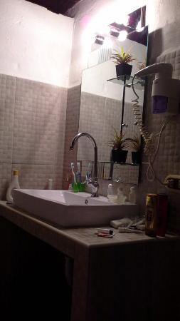 Posada Lagunita: baño