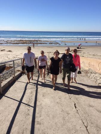 Solana Beach, Californië: Sad to leave on such a beautiful November day.