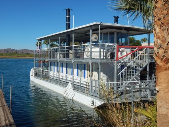 Yuma River Day Tours: river cruise boat