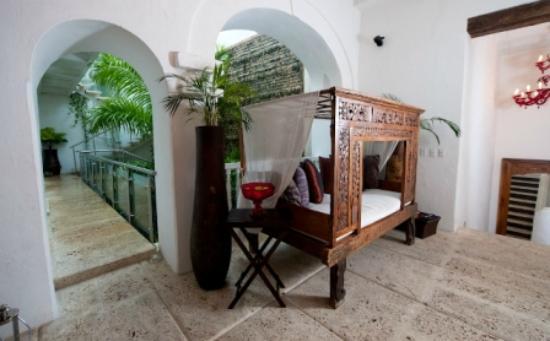 Hotel Aguamarina: Espacios