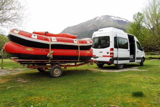 Patagonia Rafting : Rafting al limite Rio Manso