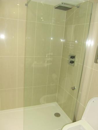 Tewkesbury Park: walk in shower