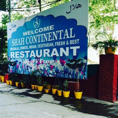 Shah Continental: a view of outside board !