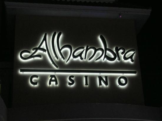 Alhambra Casino: nightime fun