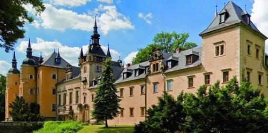 Osiecznica, Polonia: Zamek od południwej strony