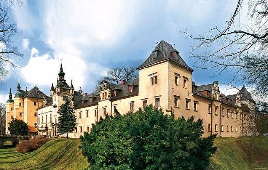 Osiecznica, Polonia: Północna ściana zamku