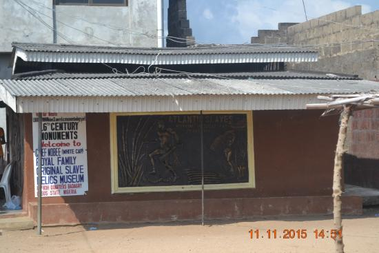 Badagry Slave Museum and Black History Museum: Outside of Building
