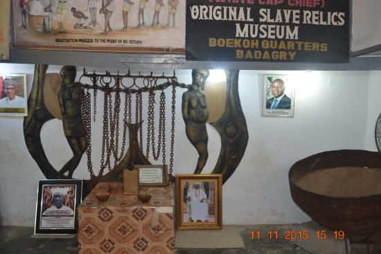 Badagry Slave Museum and Black History Museum: Chains