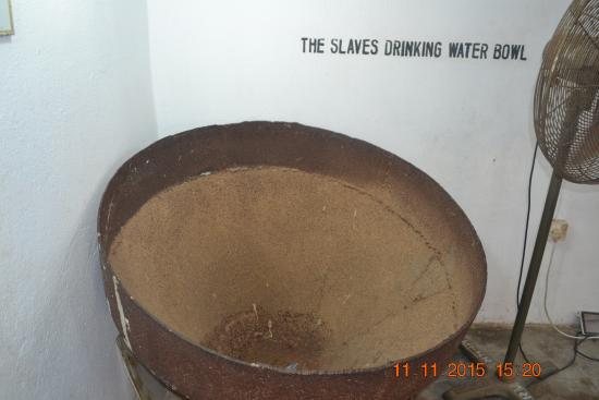 Badagry Slave Museum and Black History Museum: Slave Drinking Water Bowl