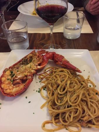 Ristorante Ribot: Pâtes au homard