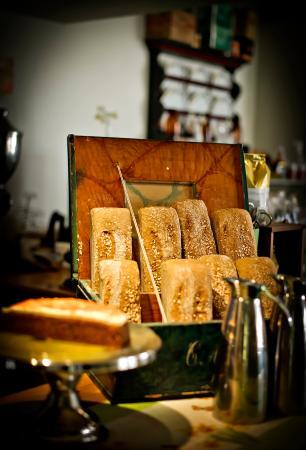 Hornindal, Νορβηγία: Homemade bread