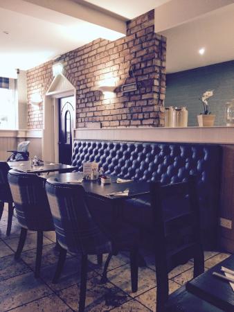 The Oaks Bar Restaurant Interior Of