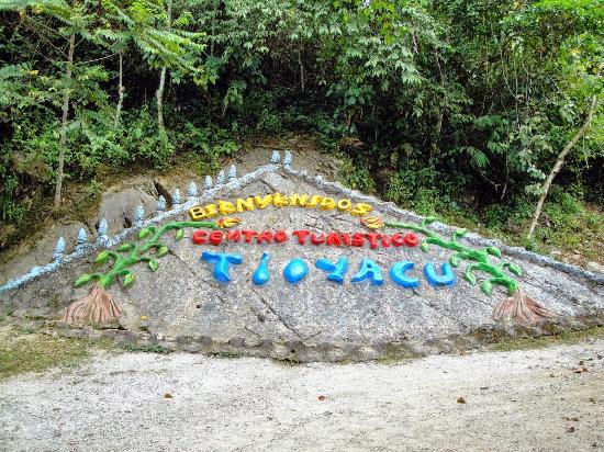 Centro Turistico Naciente del Río Tio Yacu: entrada principal al recreo natural
