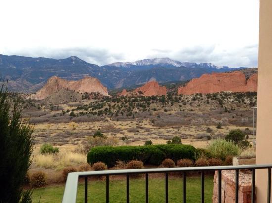 Balcony View Picture Of Garden Of The Gods Collection Colorado Springs Tripadvisor