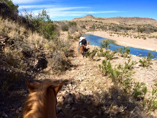 Prude Ranch: gorgeous trail ride