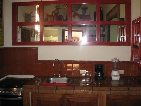 Hotel Casa Encantada: My in-room kitchen