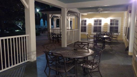 Attractive Residence Inn Orlando At SeaWorld: A Small Part Of The Back Patio Area