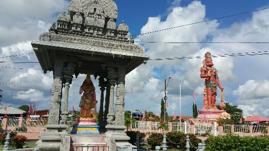 Dattatreya Temple and Hanuman Statue