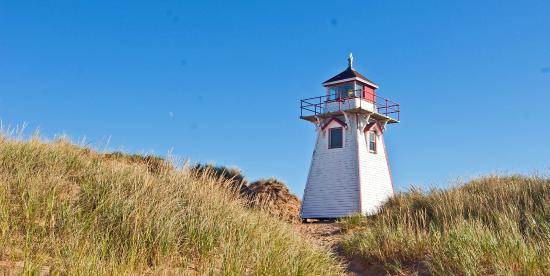 The lighthouse at Brackley Beach