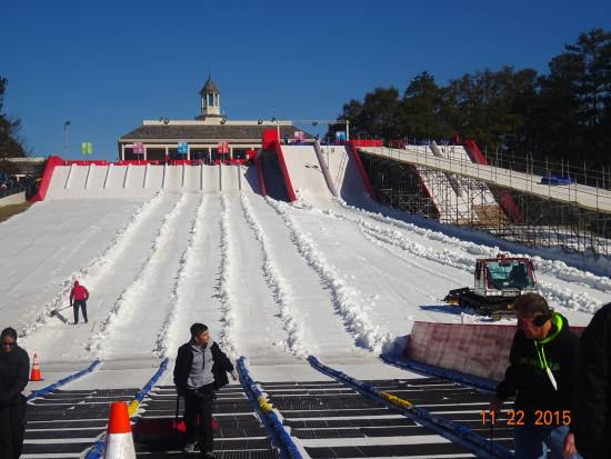 Snow Mountain at Stone Mountain Park
