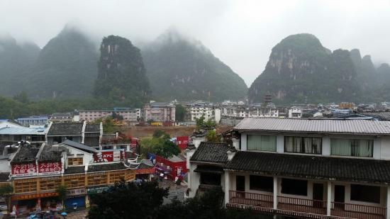 Yangshuo Elite Garden Hotel: View from balcony