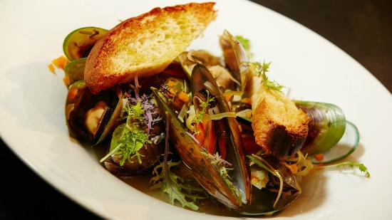 Raetihi Lodge Restaurant: Green Lipped Mussels