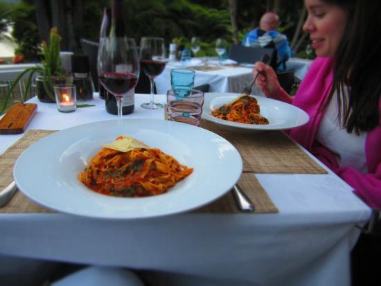 Raetihi Lodge Restaurant: Fresh pasta options