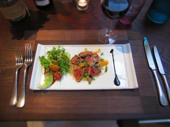 Raetihi Lodge Restaurant : Thai Beef Salad is fabulous!