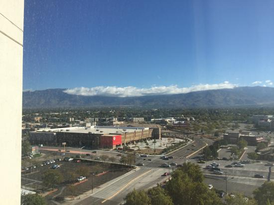 Albuquerque Marriott: View from room